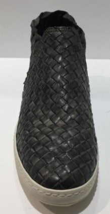 Cesar Piacotti Woven Leather Ankle Boot CPD23