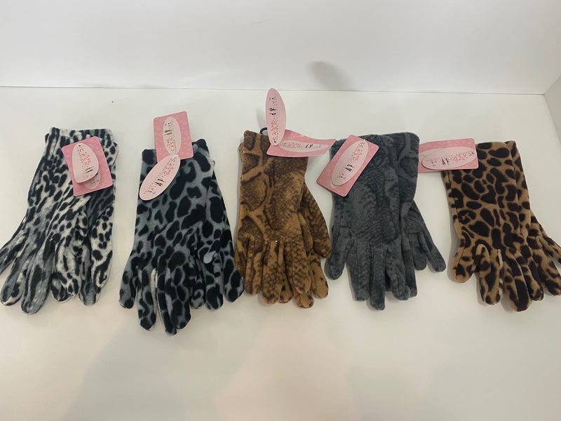 Henderson Animal Print Stretch Gloves HHWG66