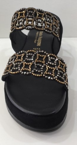 Chiara Pasquali  Leather and Stud Platform PA2134