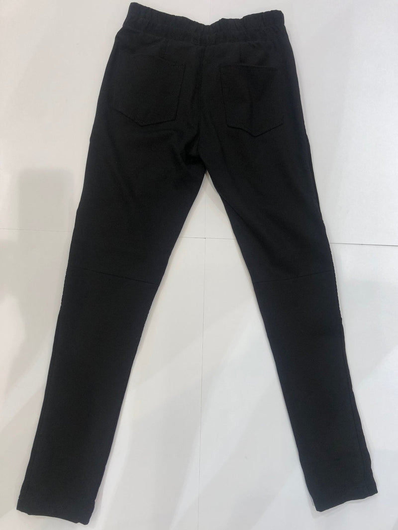 Stretch Suede Trousers