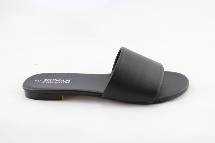 Human Premium Leda Leather Slide