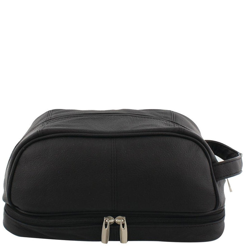 Siricco Luka Men's Leather Toiletry Bag 58965