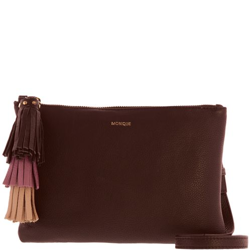Monique Soft Leather Naraya Tassle Crossbody Bag  GA64686