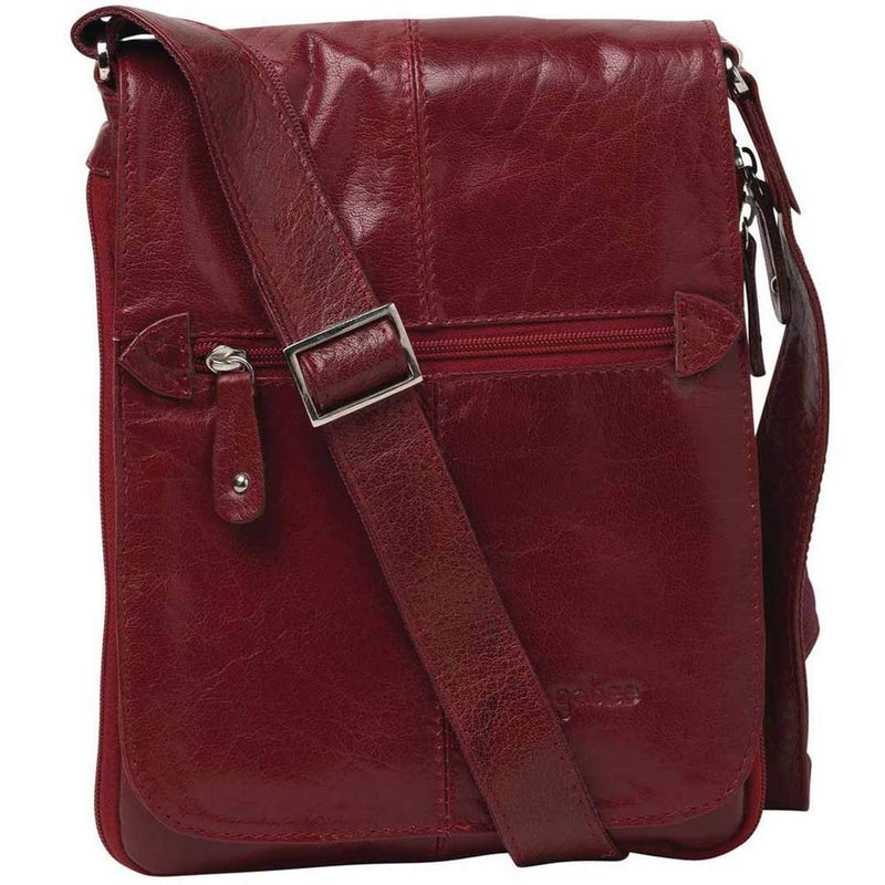 Gabee Mini Alex  Italian Leather Crossbody Satchel  44528