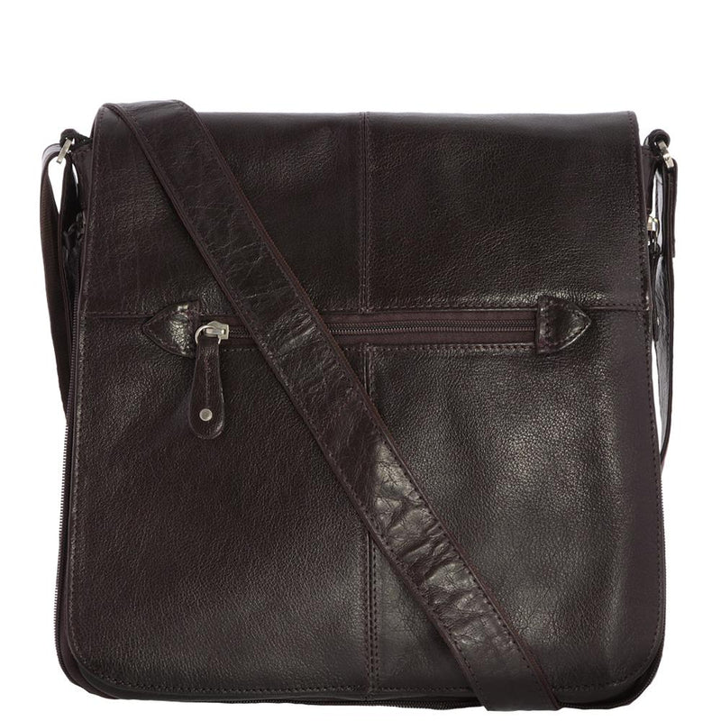 Gabee  Italian Leather Alex Crossbody Satchel  44529