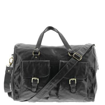 Gabee Soho Leather Overnight Bag 58627