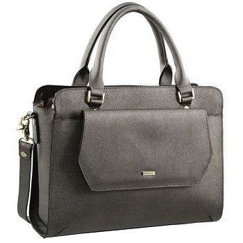 Morrissey  Structured Leather Saffiano Fashion Handbag MO2202