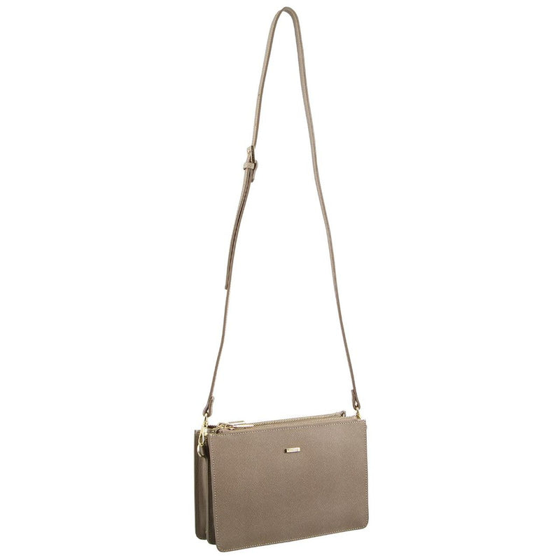 Morrissey  Structured Italian Leather Crossbody Bag  MO2760