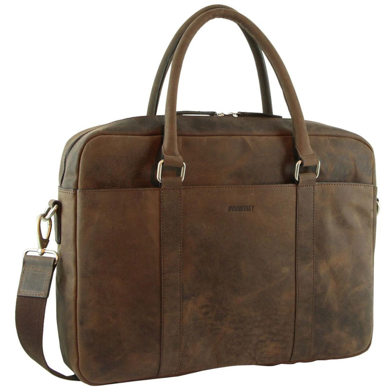 Morrissey Hunter Leather Laptop Bag MO3044