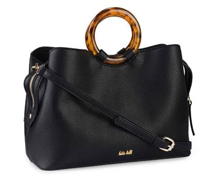 Kate Hill Nola Faux Leather Leather Bag