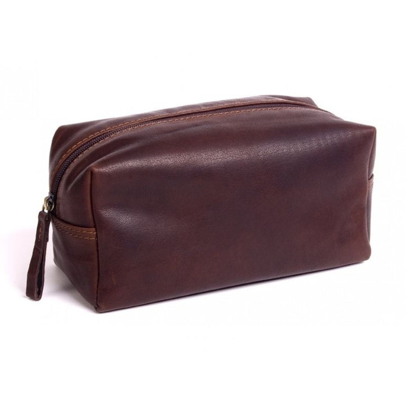 Oran Men's Leather Toiletry Bag - Wet Pack - OB-7258