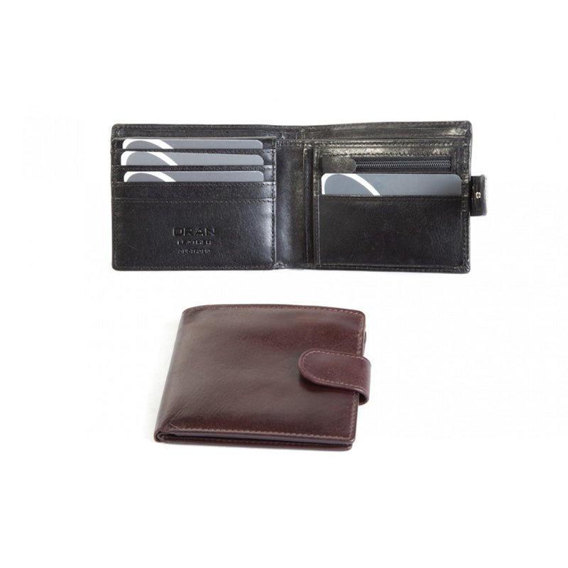 Oran Sumac Men's Leather RFID Wallet BK95