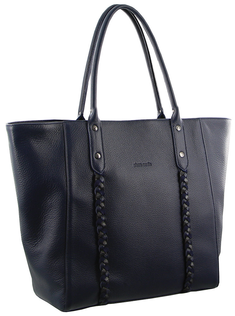 Pierre Cardin Italian Leather Tote Handbag PC2738