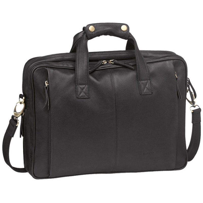 Pierre Cardin Leather Laptop Satchel PC8866