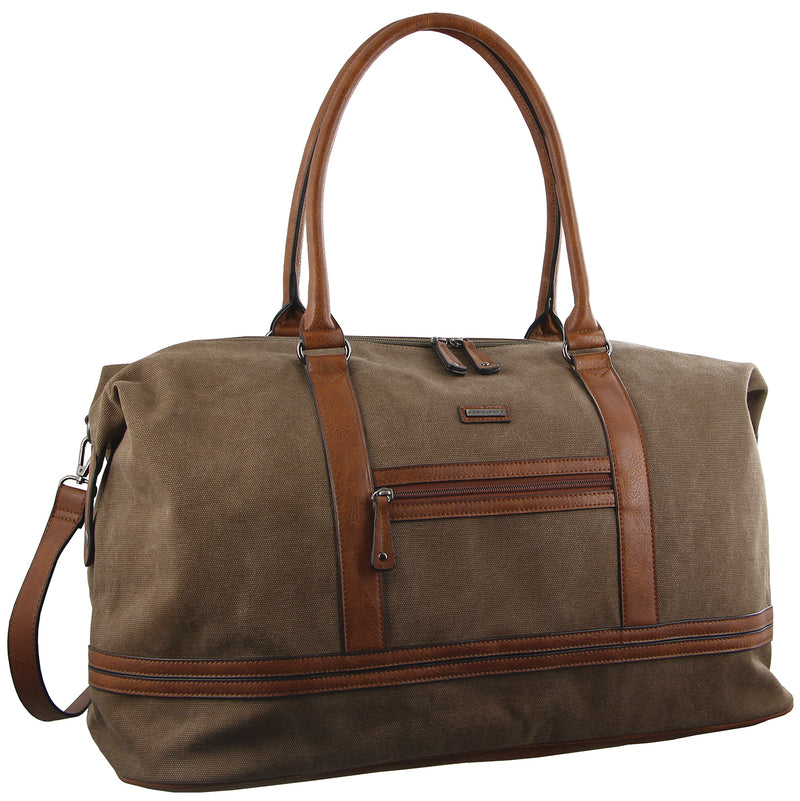Pierre Cardin Canvas Overnight Bag PC2578