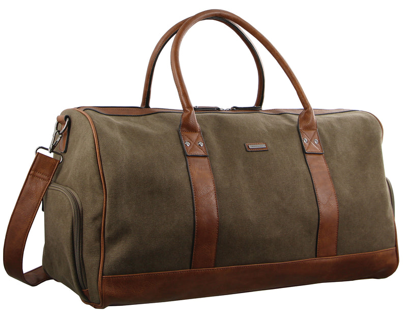 Pierre Cardin Canvas Overnight Duffle Bag PC2581
