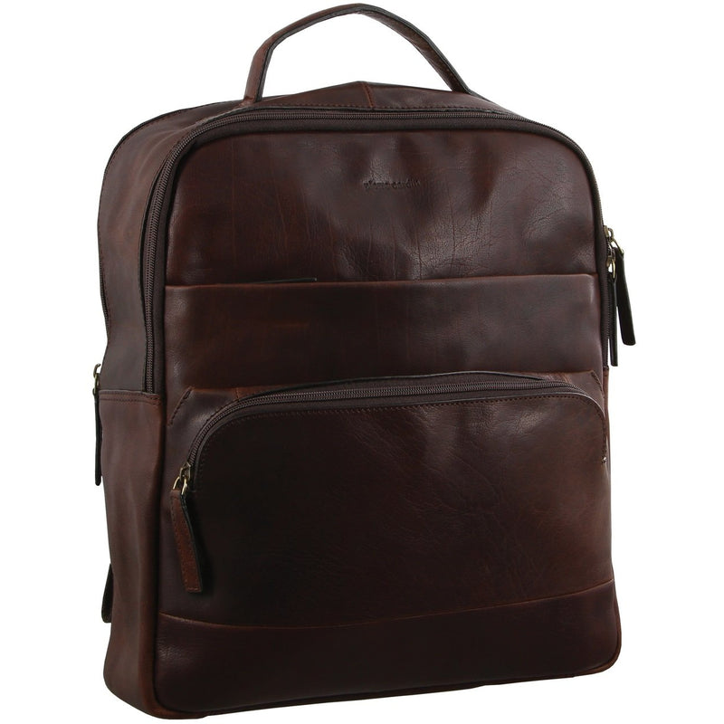 Pierre Cardin Rustic Leather Backpack PC2808