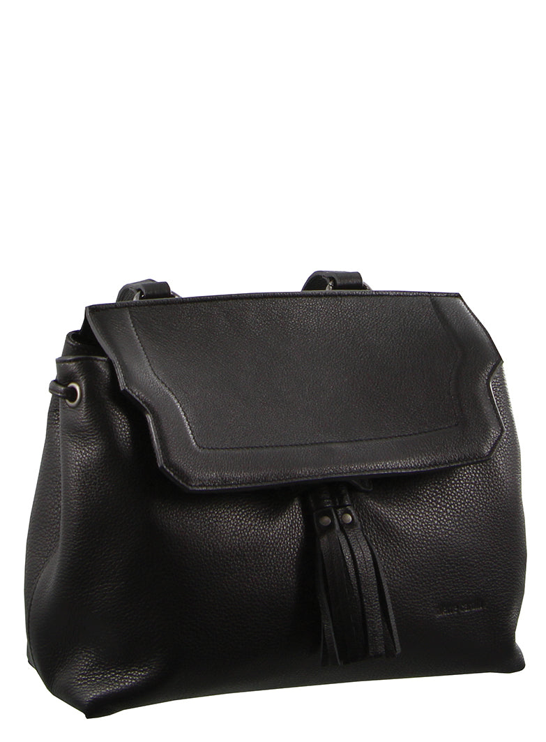 Pierre Cardin Leather Backpack