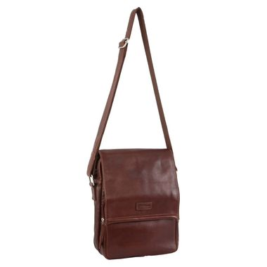 Pierre Cardin Rustic Leather Crossbody Bag PC3040