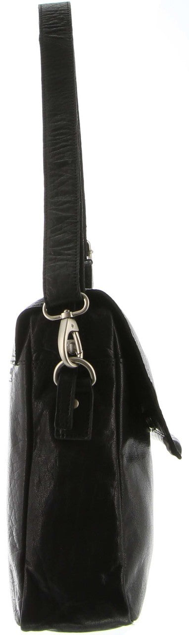 Pierre Cardin Leather Laptop Satchel PC3041