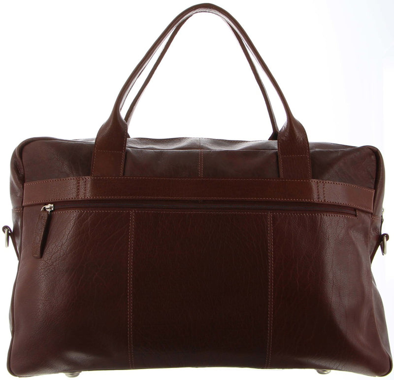 Pierre Cardin Leather Overnight Bag PC3042