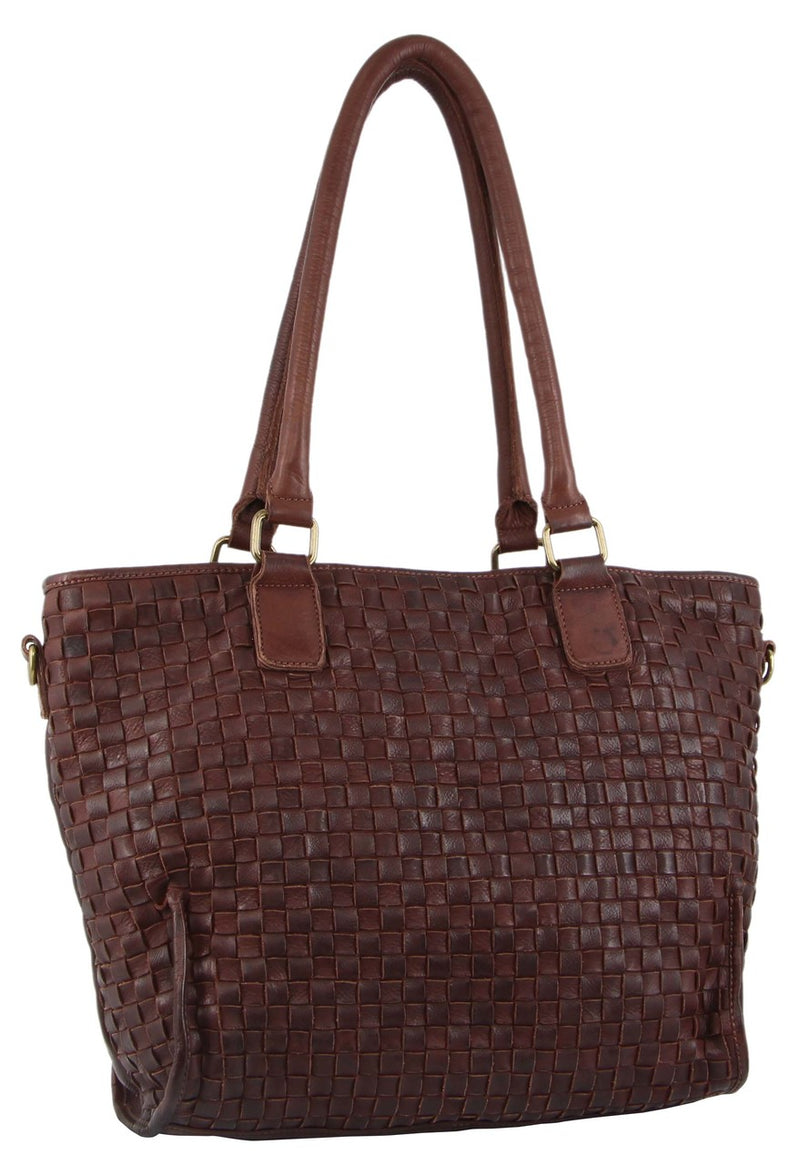 Pierre Cardin Women's Washed Leather Tote PC3120