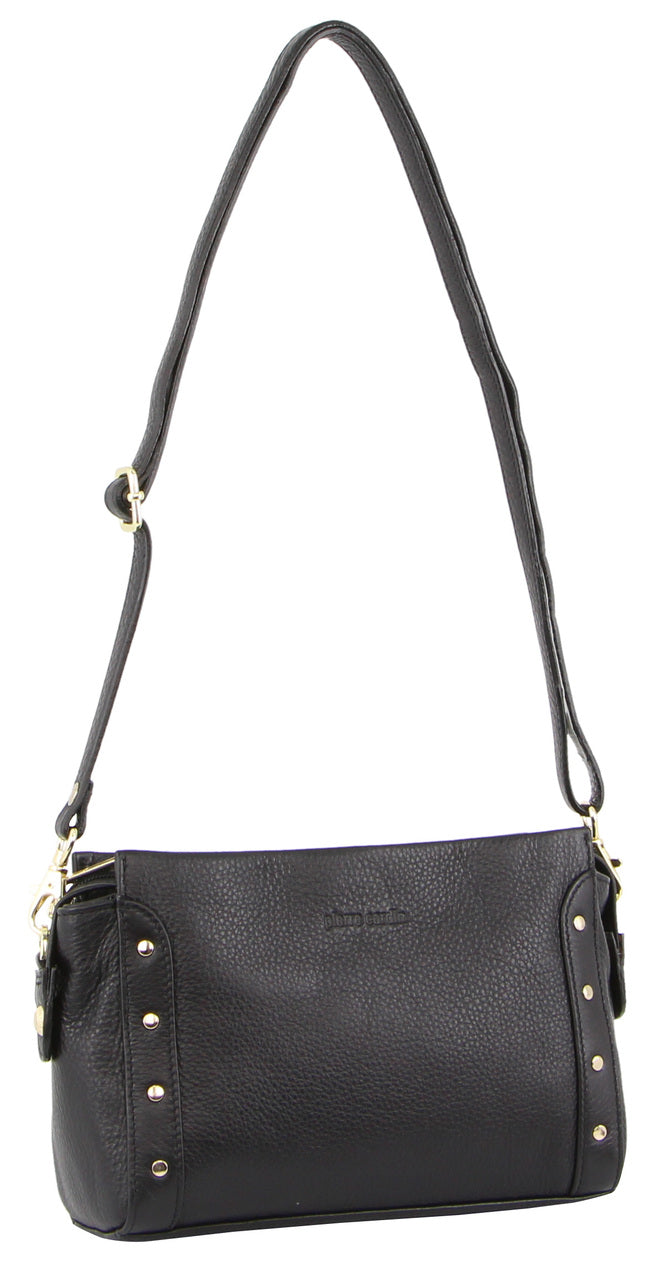 Pierre Cardin Leather Hobo Bag PC3150