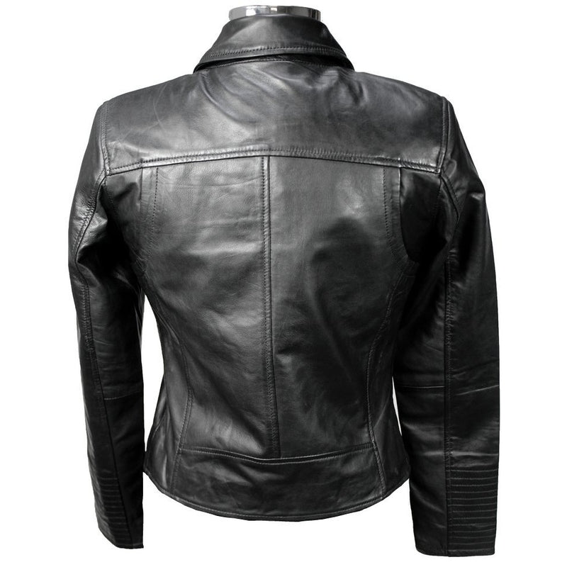 Jil Women's Short Leather Jacket