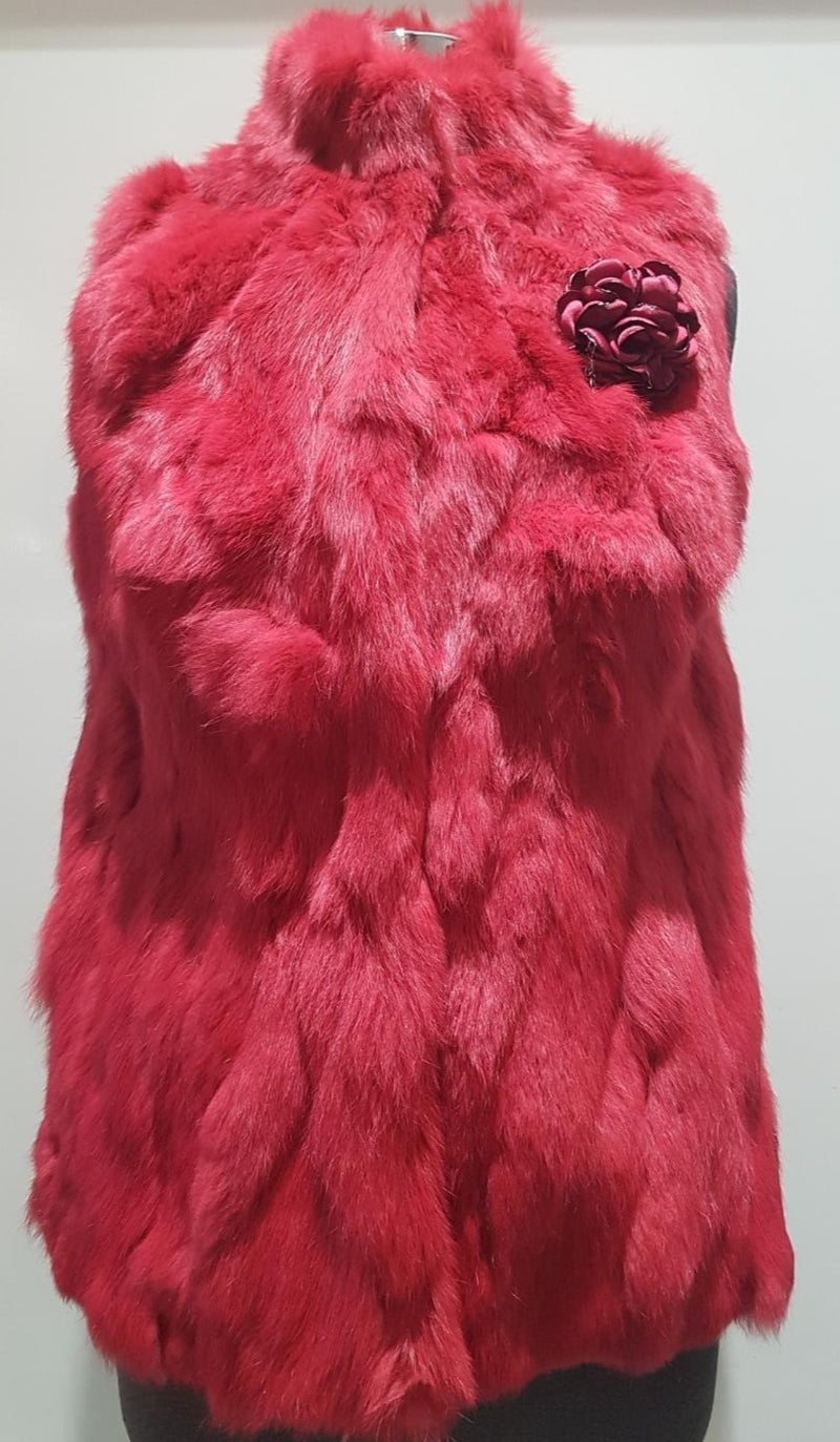 Betta Coradi Rabbit Fur Vest BCA91B002