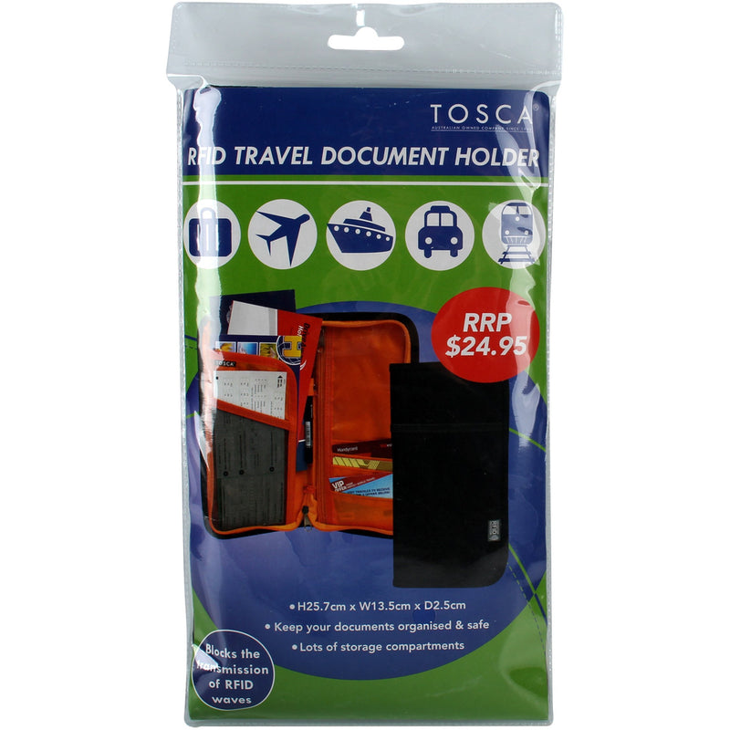 Tosca RFID Travel Document Holder TCA010