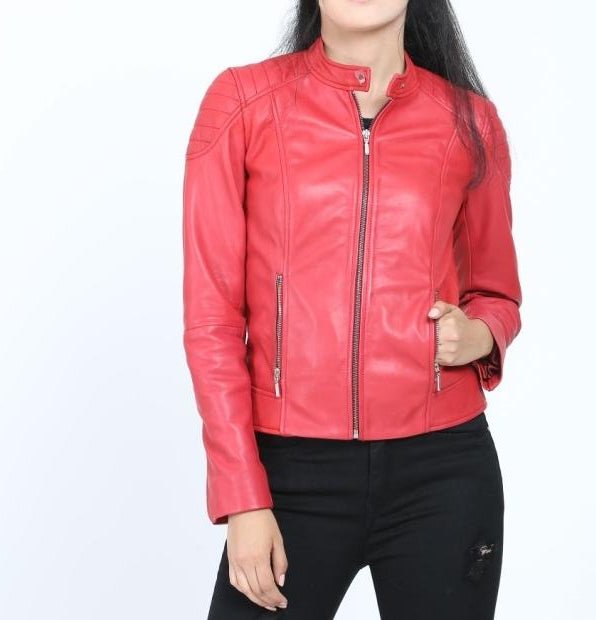 Texas Women's Leather Jacket