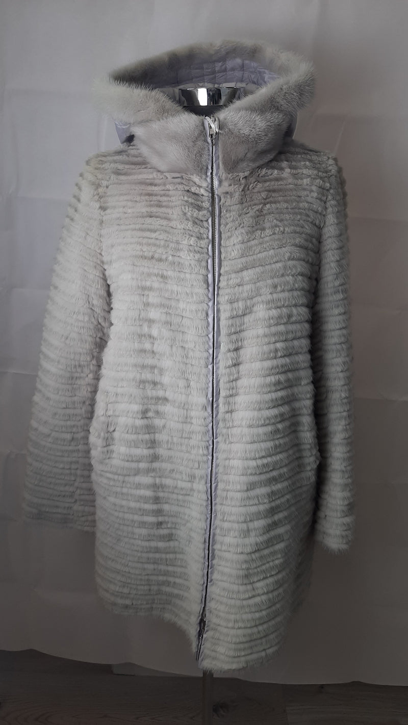 Shine and Dance Shaved Mink Reversible Jacket BCA89933