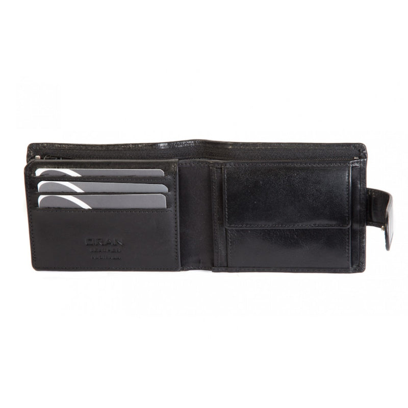 Oran Saffron Men's Leather RFID Wallet BK98