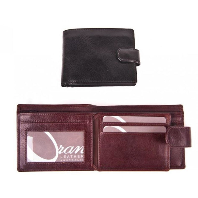 Oran Clove Mens Leather Wallet BK-99