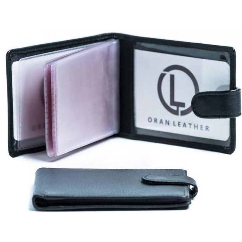 Oran Leather Card Holder with Clip CH-357