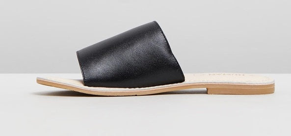 Human Premium Trinity Leather Slide