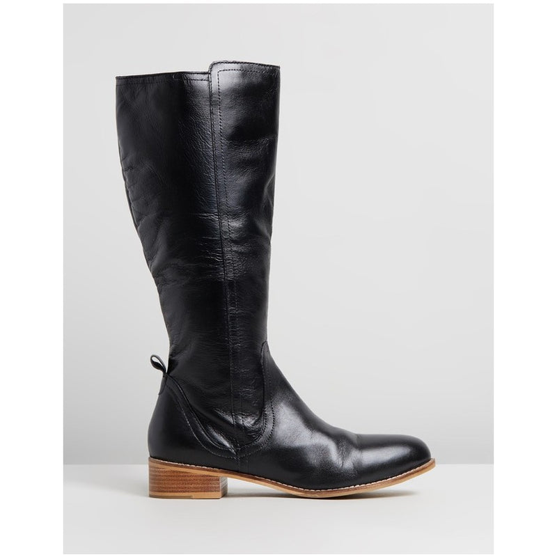 Human Premium Sabrina Tall  Leather Boot