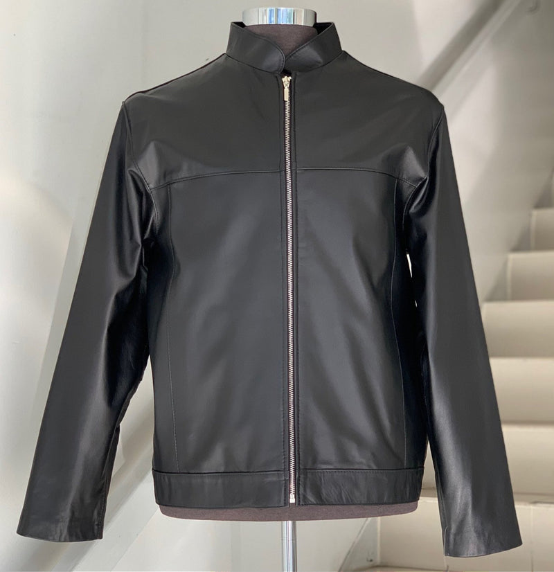 Siricco  Classic Men's Italian Leather Jacket SI103L- Made in Australia