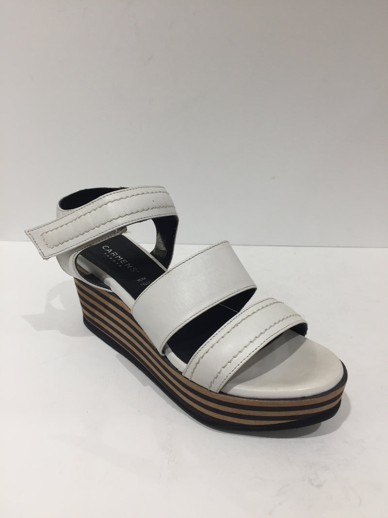 Carmens Leather Strap Wedge Sandal CA37277
