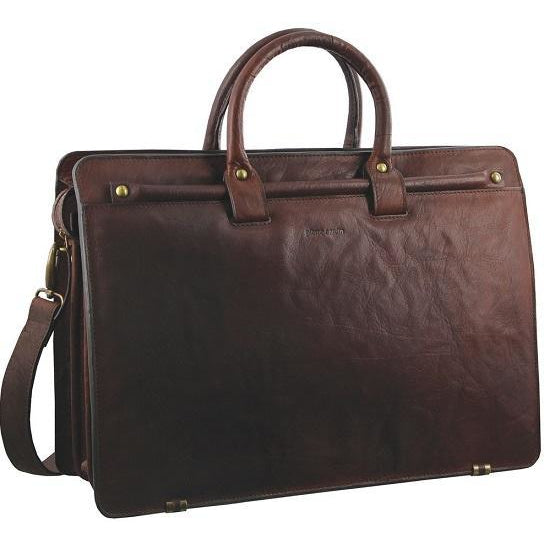 Pierre Cardin Rustic Leather Computer Bag PC2809
