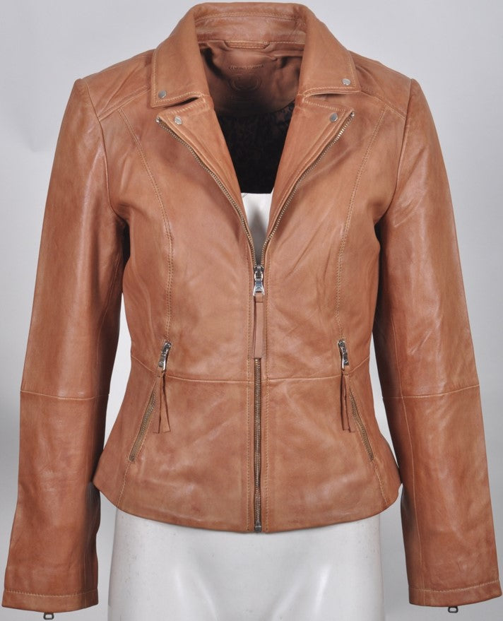 Mischa Women's Italian Leather Jacket 430014