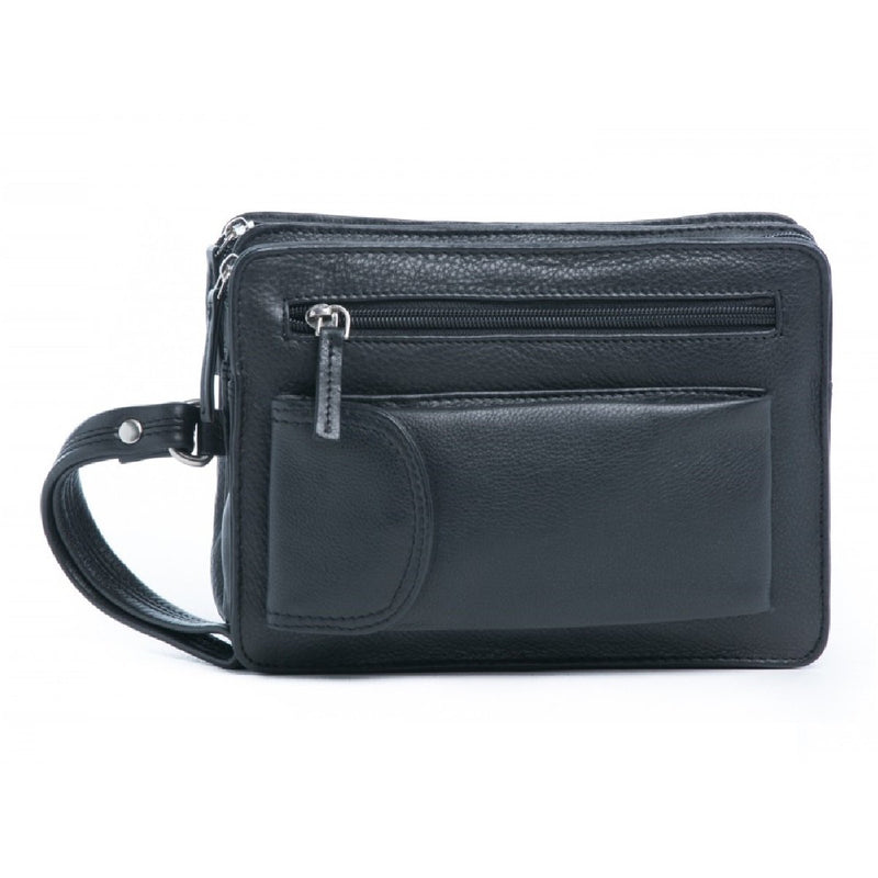 Oran Phillip Men's Leather Wrist Bag OB-14258
