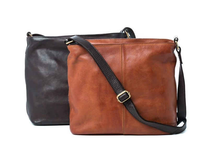 Oran Selia  Leather  Crossbody Bag OR5004