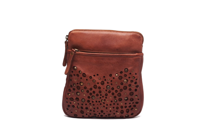 Oran Poppy Women's  Leather Crossbody Bag  RH2525