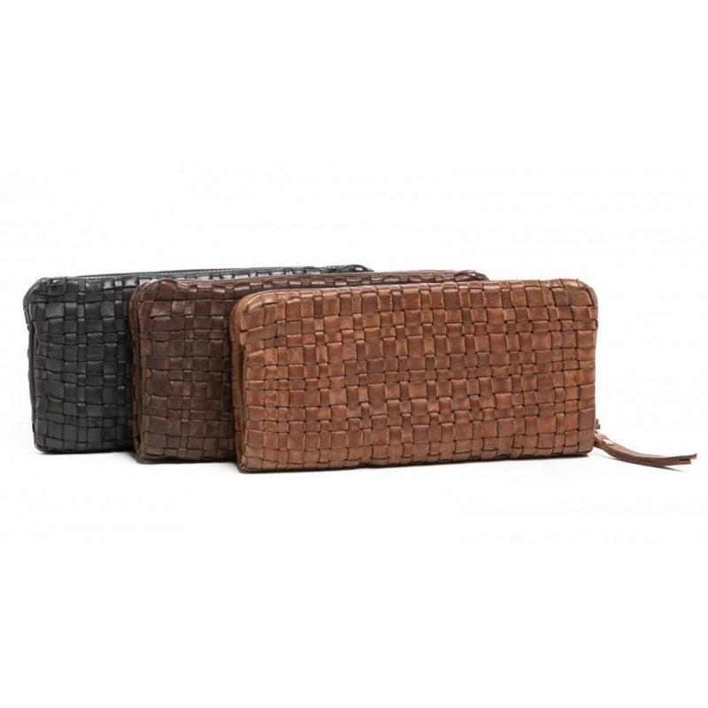 Oran Barbara Zip Leather Wallet RH-2118