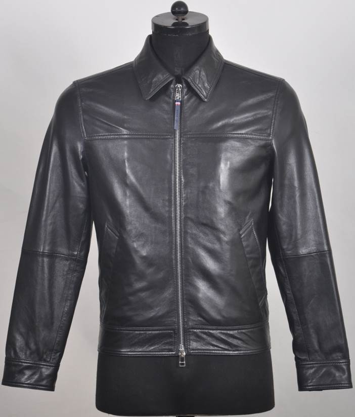 SP20N Classic Men's Soft Leather Jacket