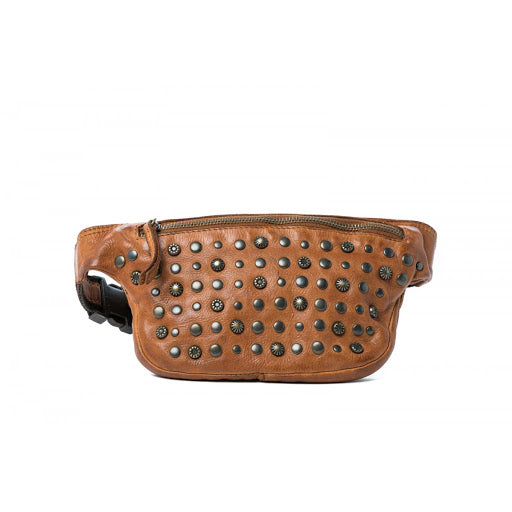 Oran Miami Women's Leather Studded  Bum Bag RH36764