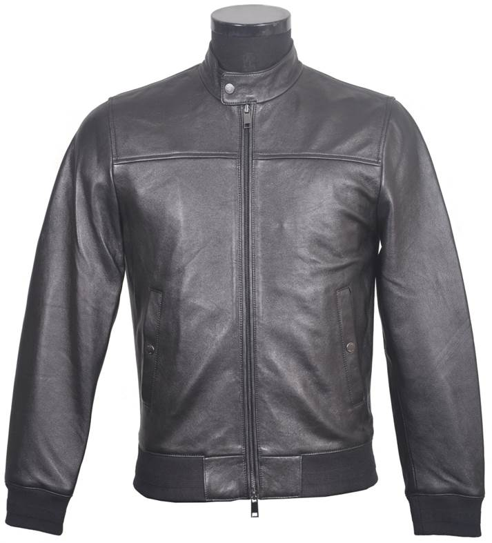 Men's Soft Leather Jacket  VR2
