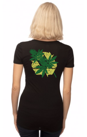 Graphic print Hemp T-shirt