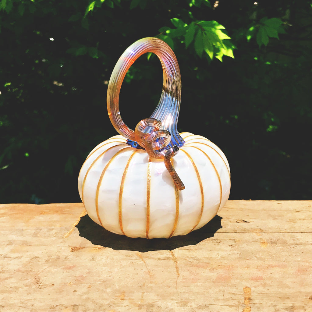 Aspen Glass Pumpkin